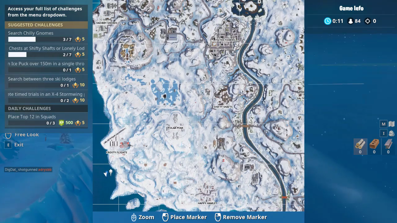fortnite timed trial location 1 - fortnite timed trials in an x4 stormwing