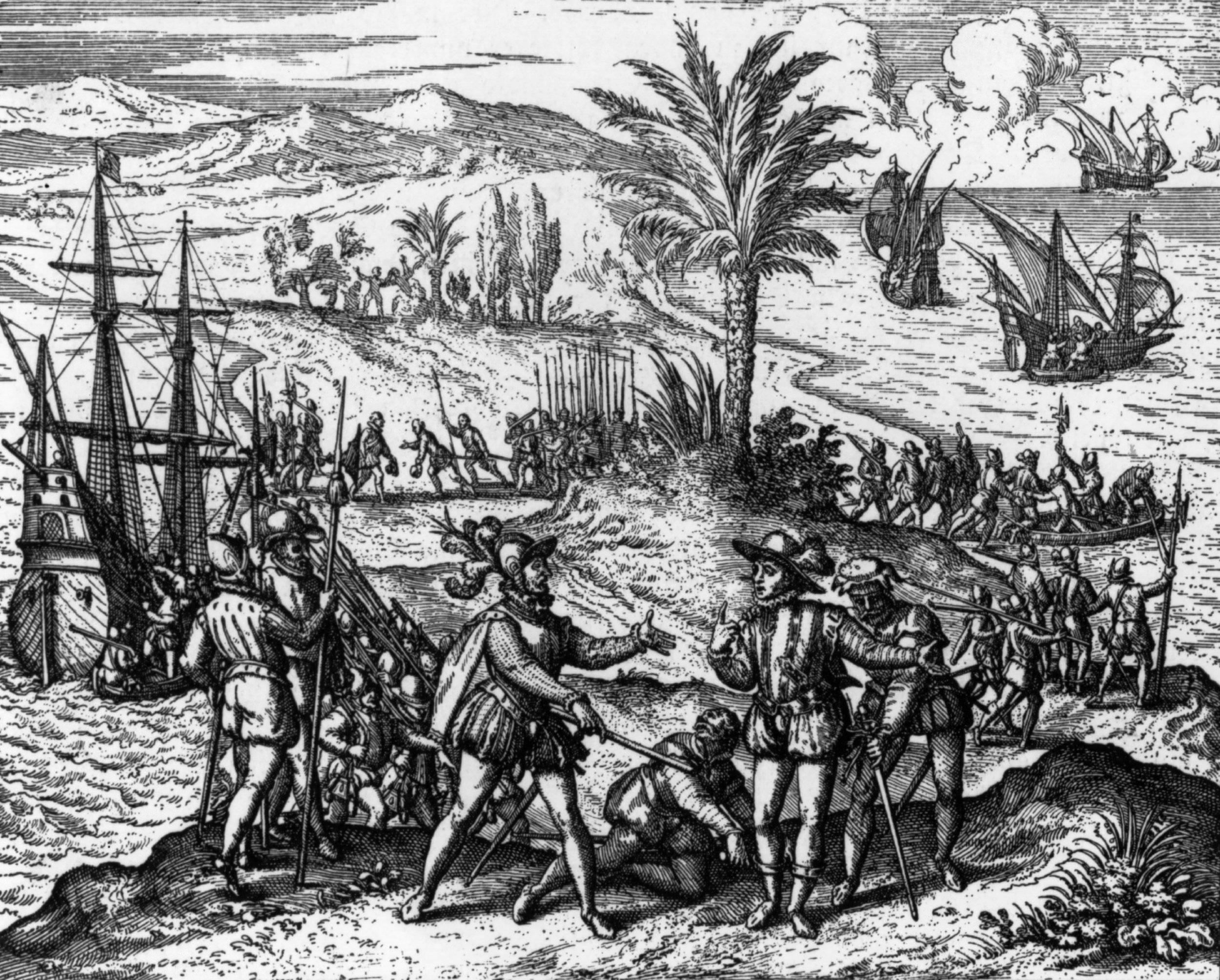 Columbus arrival