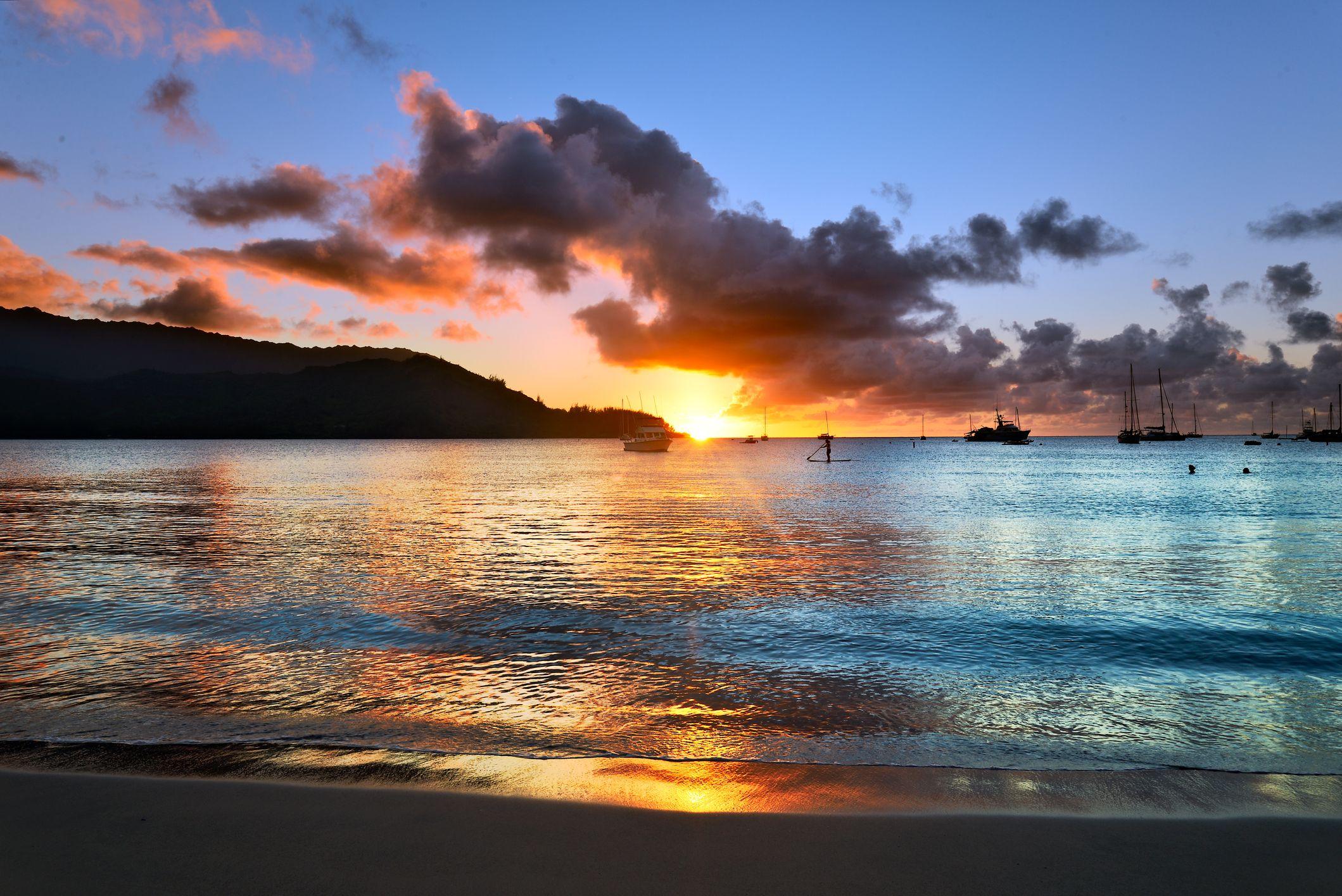 Hanalei Beach hawaii