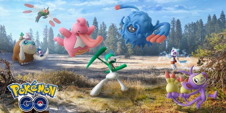 pokemon go sinnoh evolutions update