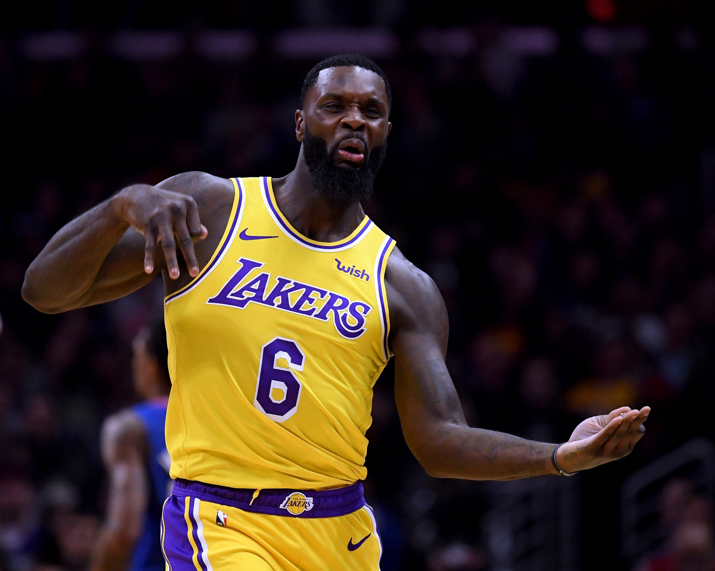 Lance Stephenson, Los Angeles Lakers
