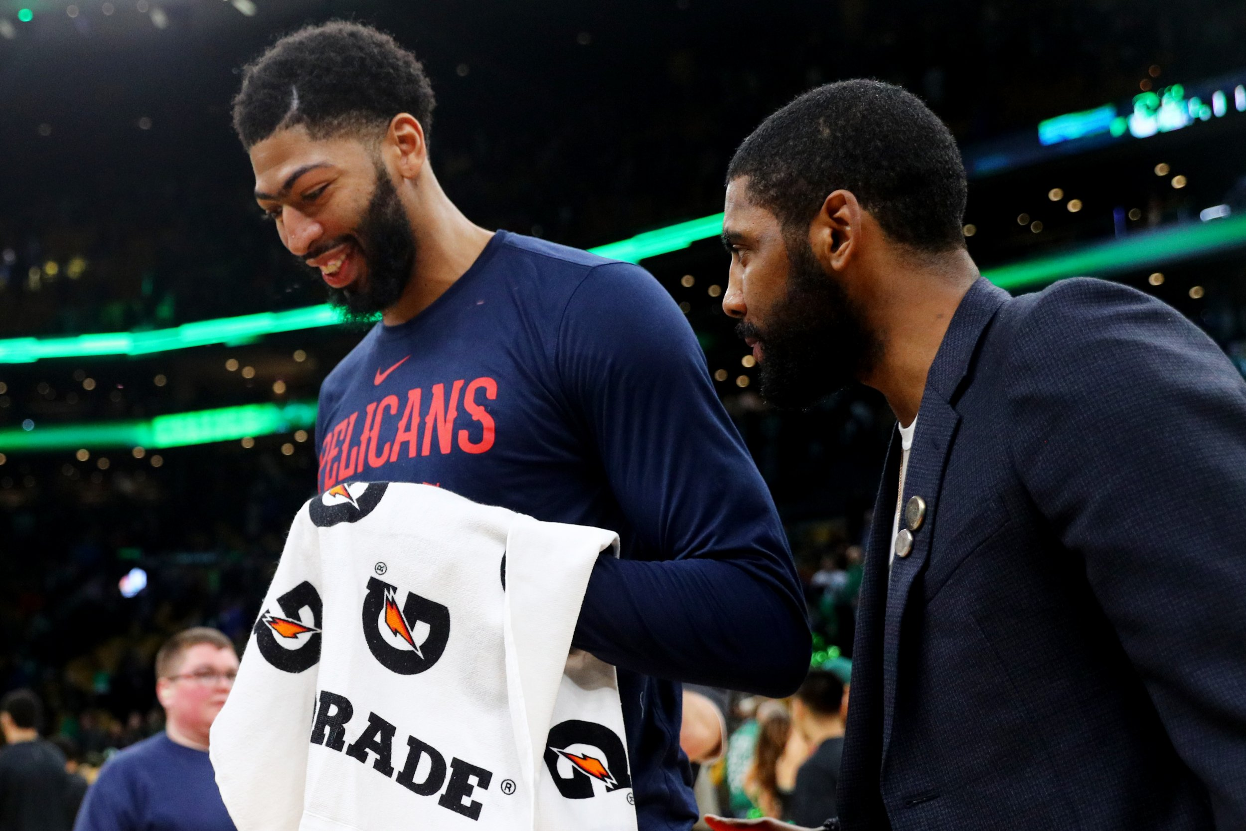 Kyrie Irving, Anthony Davis