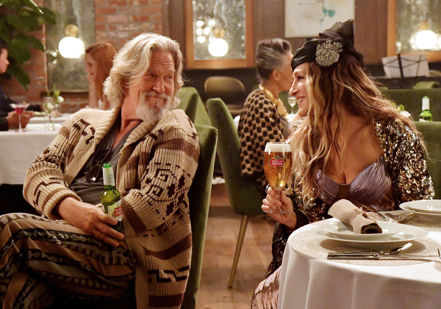 Sarah Jessics Parker as Carrie in Stella Artois Ad