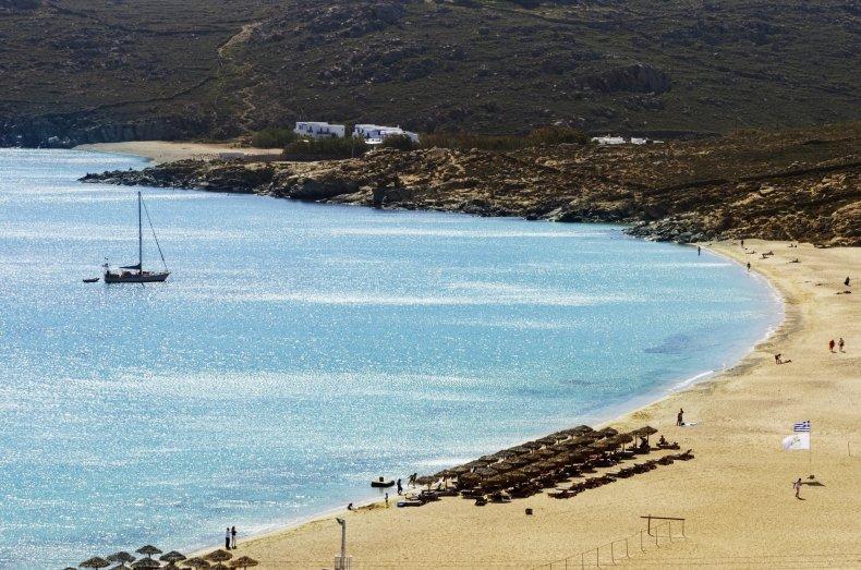elia beach gay beach mykonos greece