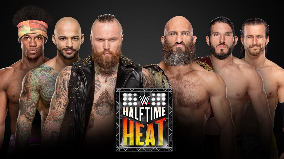 wwe halftime heat poster