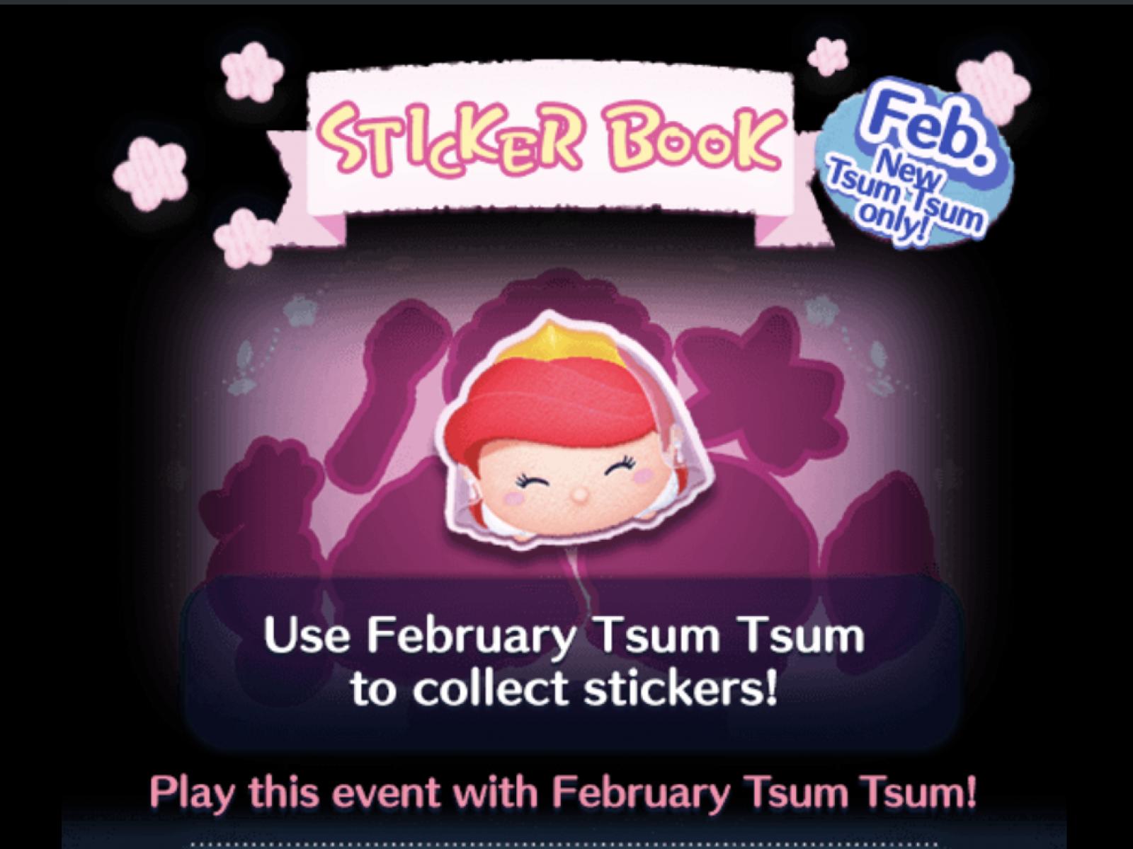 Tsumtsum 2019 February Calendar Disney Tsum Tsum' February 2019 Event: Bride Jasmine and Ariel