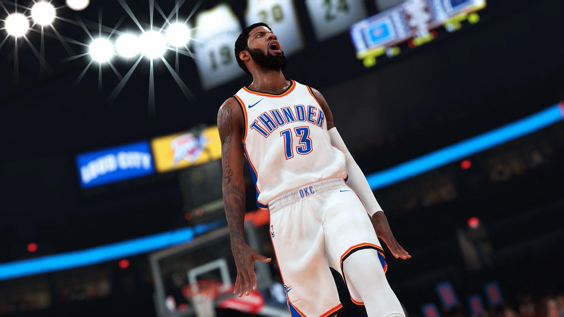 NBA 2K19 Paul George ratings update 2-1