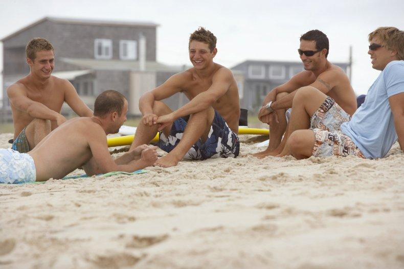 fire island pines beach gay beach
