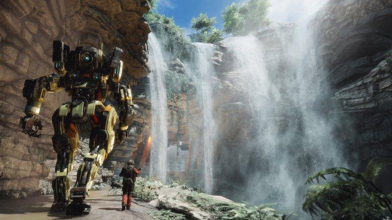 Apex Legends waterfall