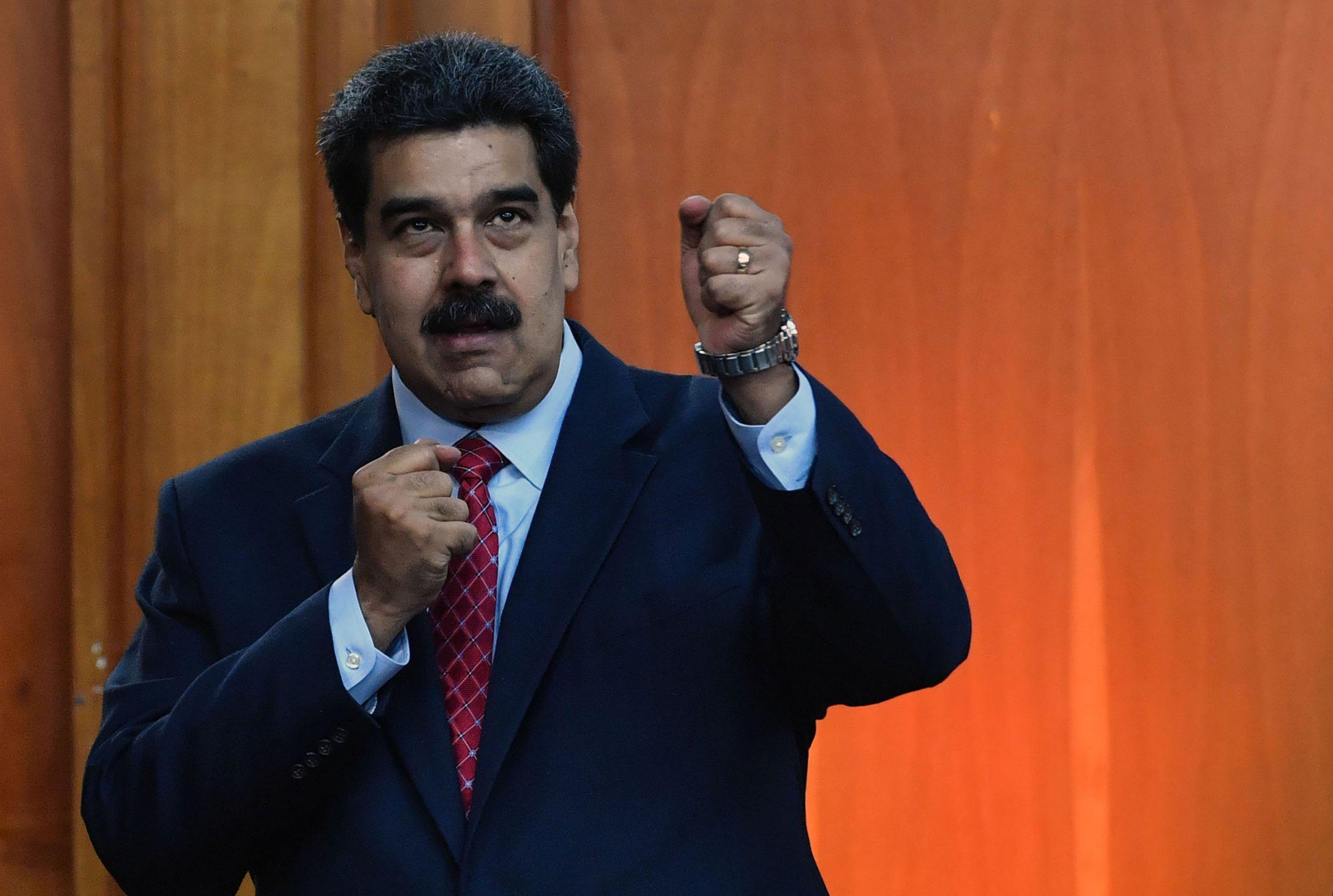 Venezuela's Maduro slams Donald Trump government: