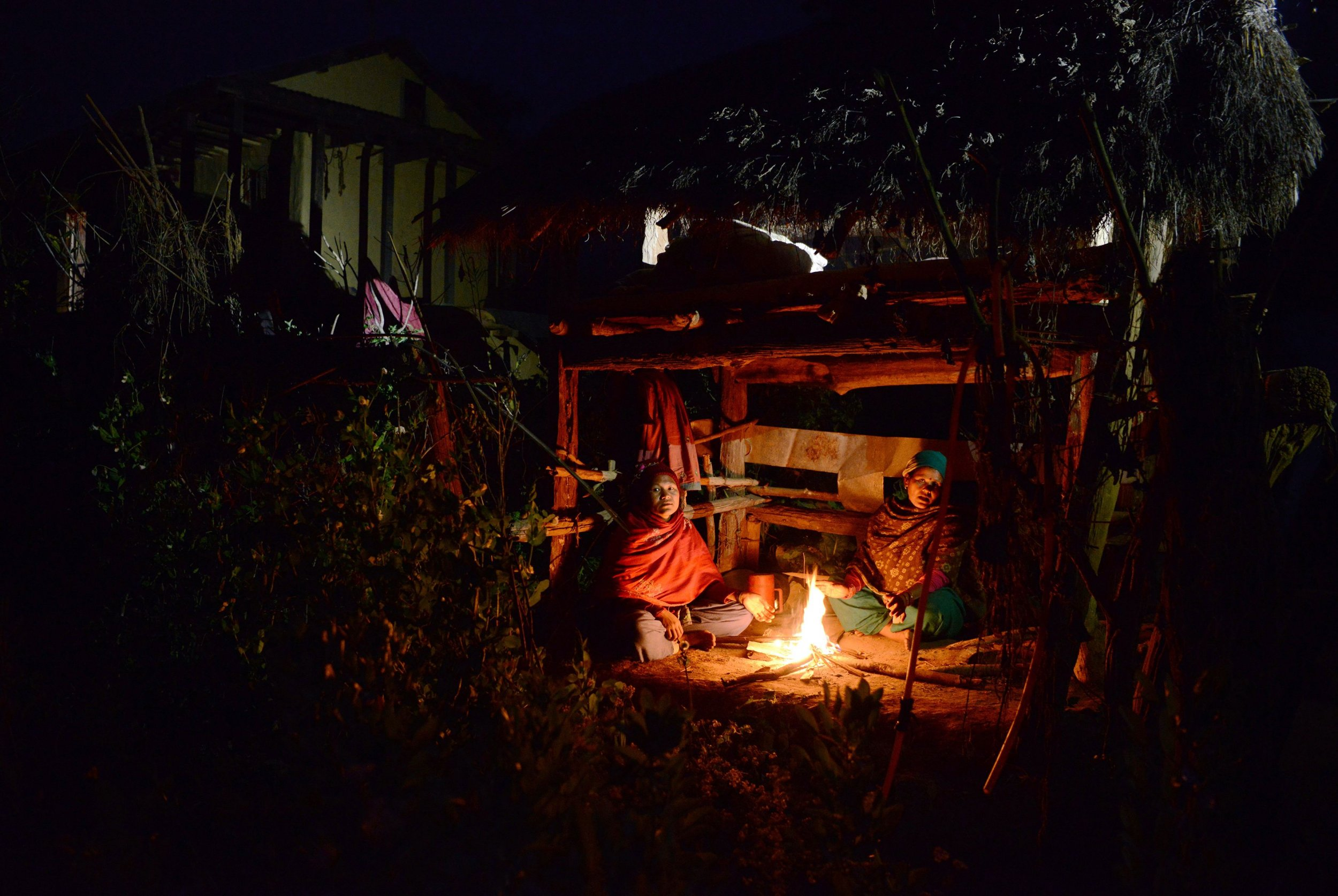 Menstruation hut, Death, Fire, Nepal, Period, Chhaupadi