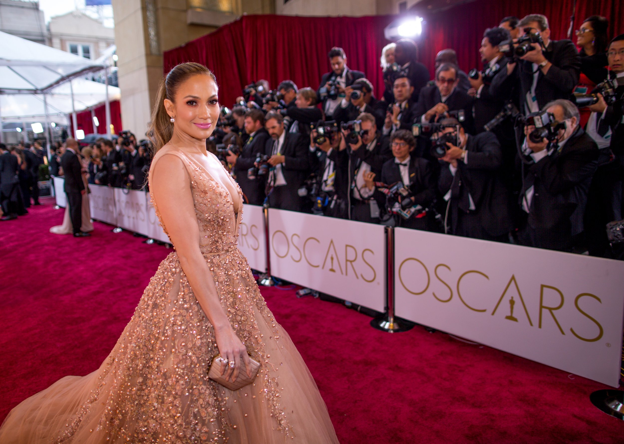 Jennifer Lopez at Oscars