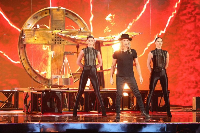 agt, champions, results, recap, episode, 5, tonight, last, night, contestants, who, went, through, consentino illusionist eliminated  Australian escape artists