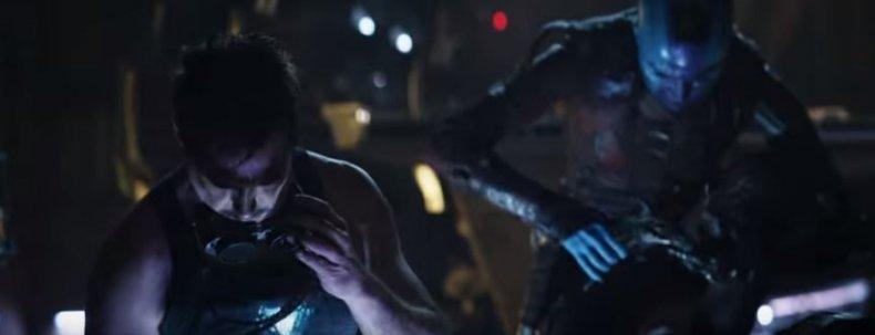 tony stark and nebula avengers endgame