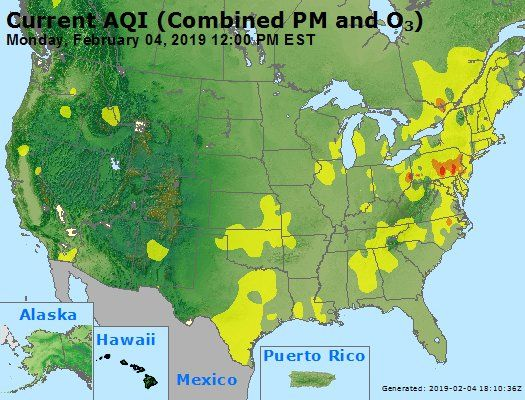 Air Quality Alert Unhealthy For Sensitive Groups Meaning