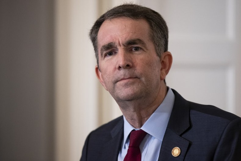 ralph northam approval rating, racist photo