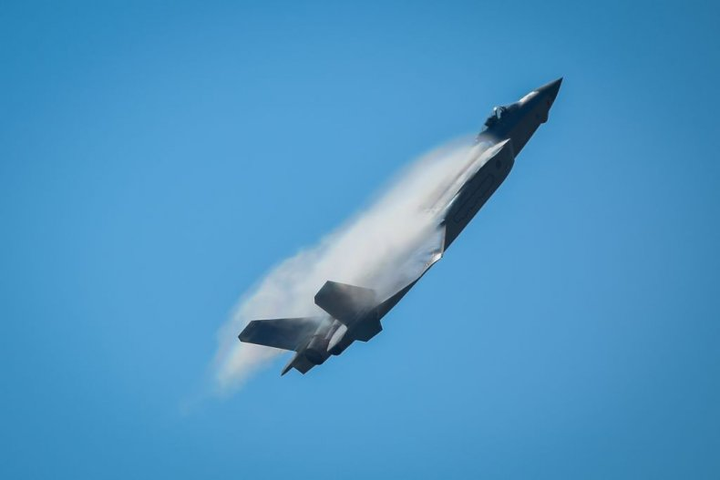 China, stealth, jets, strike,, global, targets