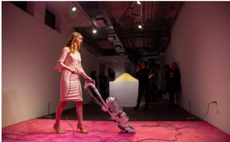Ryan Maxwell Photography: Ivanka Vacuuming
