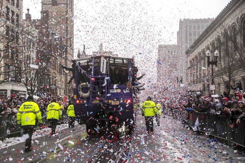 patriots new england parade