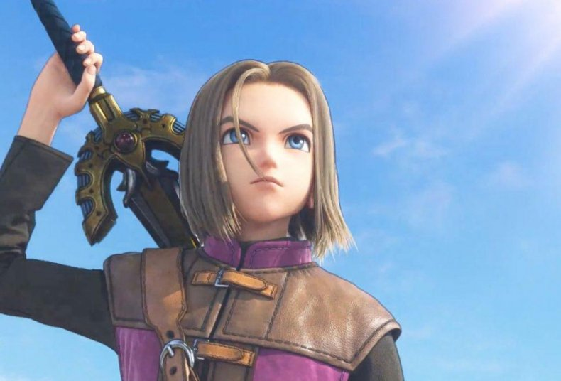 dragon quest xi protagonist