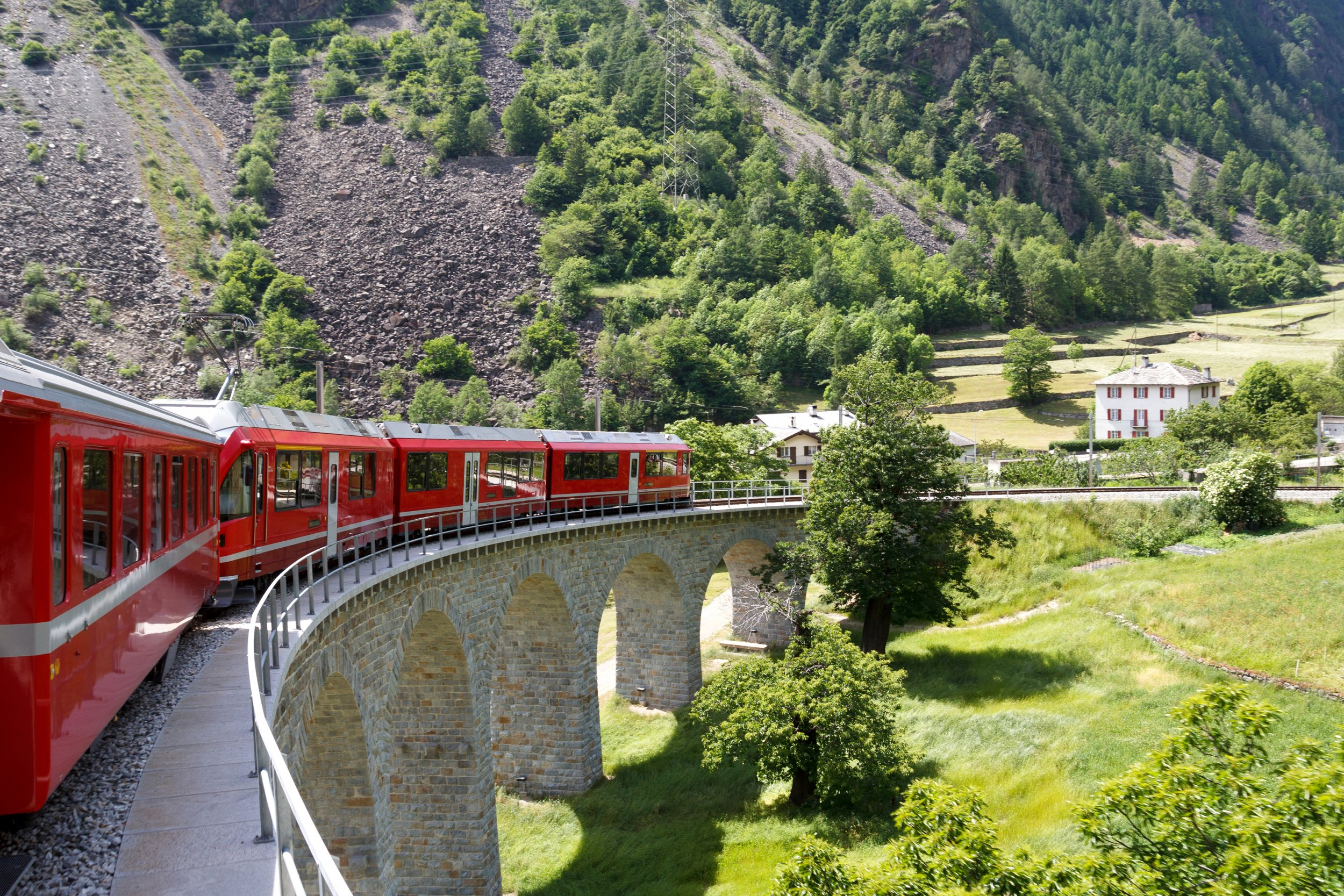 Train Travel through Italy