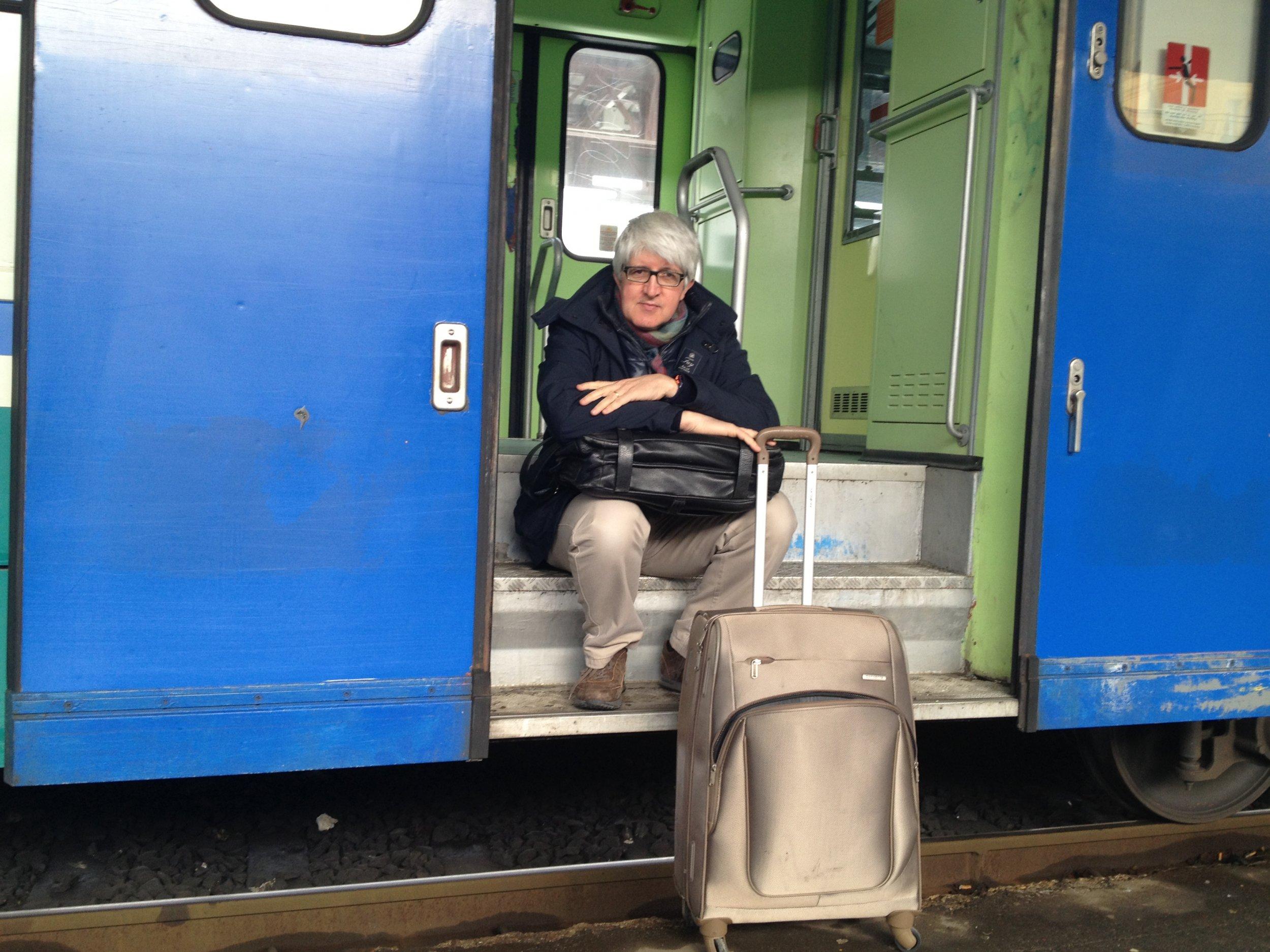 Mantua, Italy ; Train Travel
