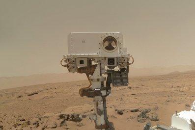 PIA16239 cropped selfieNASA Mars Rover