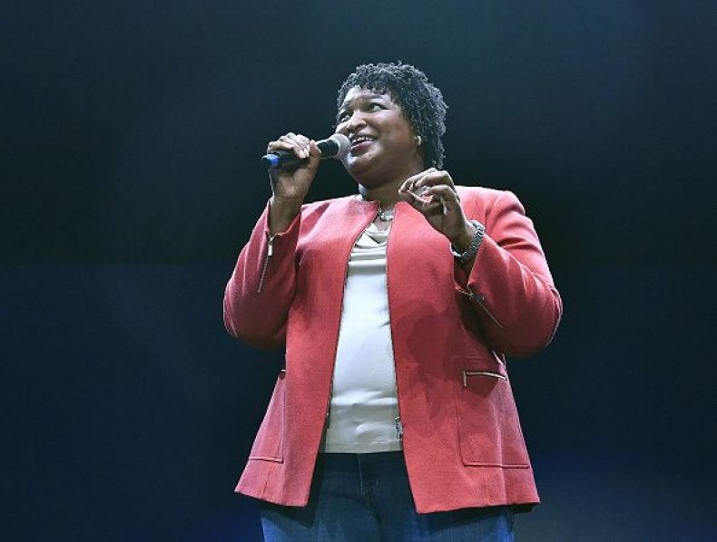 stacey, abrams, state, of the union, who, is