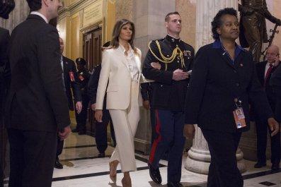 melania trump, state of the union, president, donald