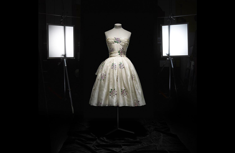 Christian Dior (1905–57), Avril, Dress, Haute Couture, SpringSummer 1955, A Line