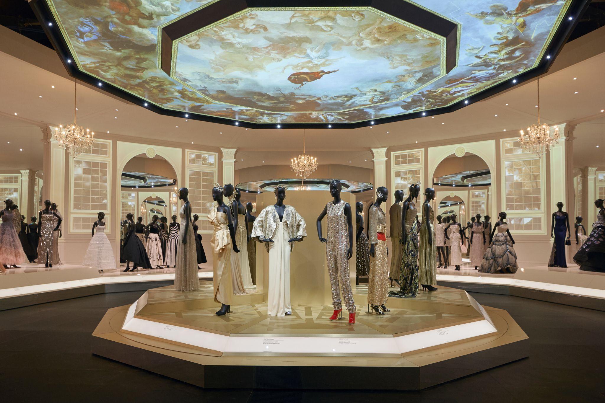 """Christian Dior: Designer of Dreams"" exhibition, ballroom"
