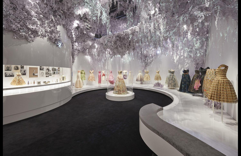 """""""Christian Dior: Designer of Dreams"""" exhibit, the Garden"""