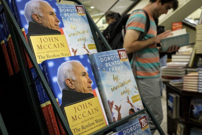 john mccain, donald trump, book