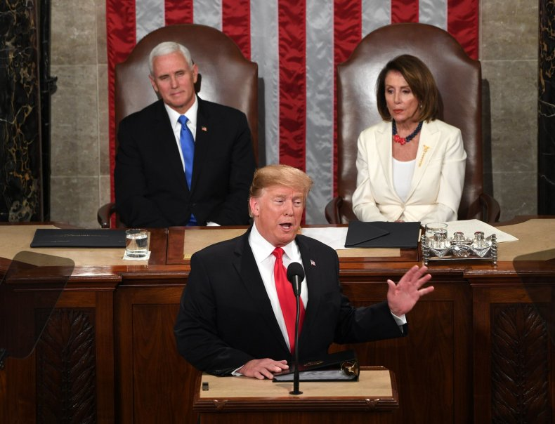 donald trump, tie, state of the union