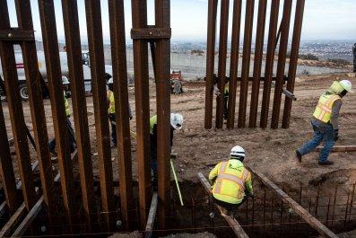 Mexico border wall donald trump