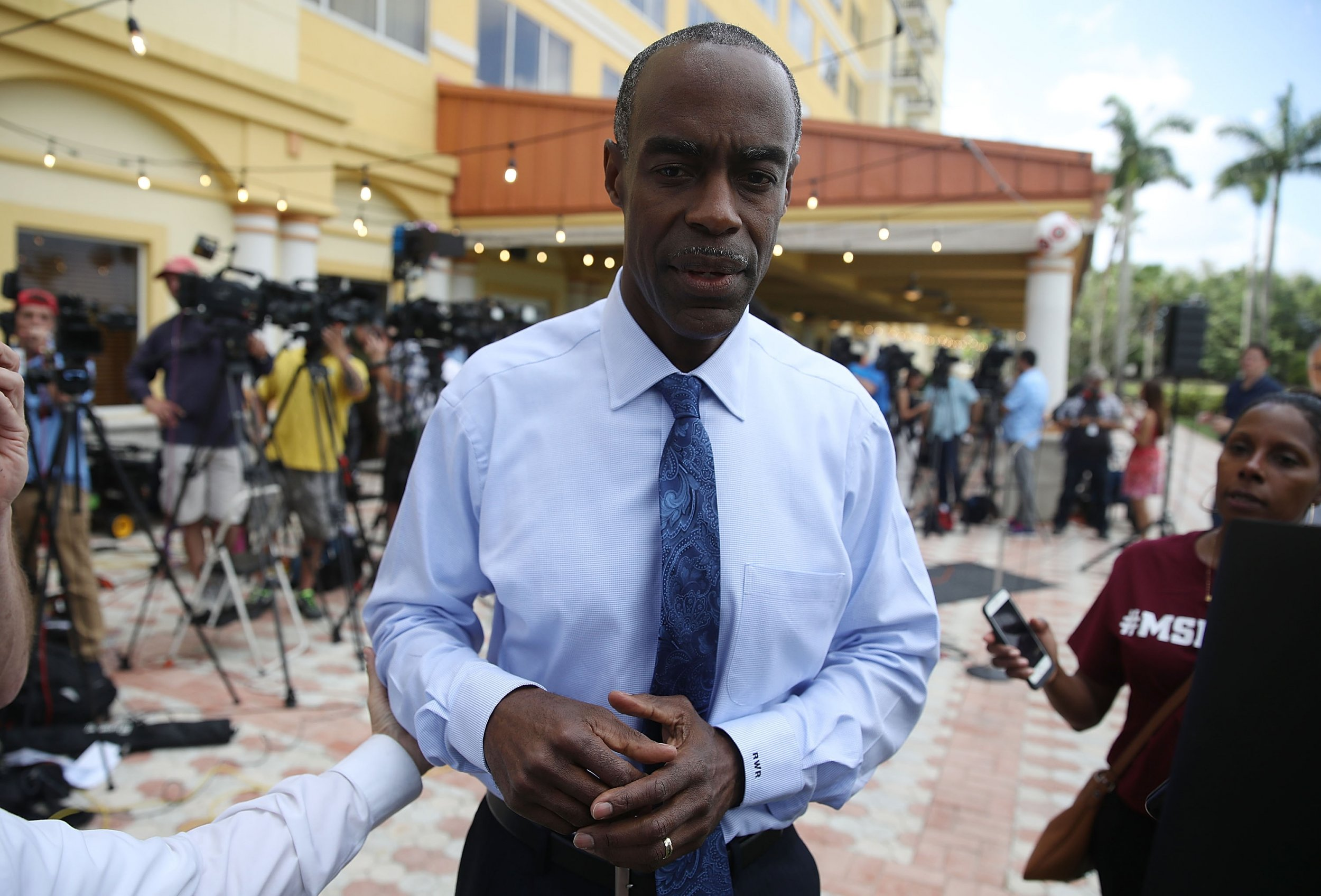 robert runcie broward county naacp parkland shooting racist