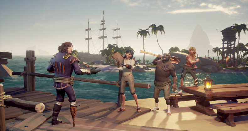 sea, of, thieves, update 1.4.3 patch notes, mercenary voyage, rum runner, ship customizations, friends play free