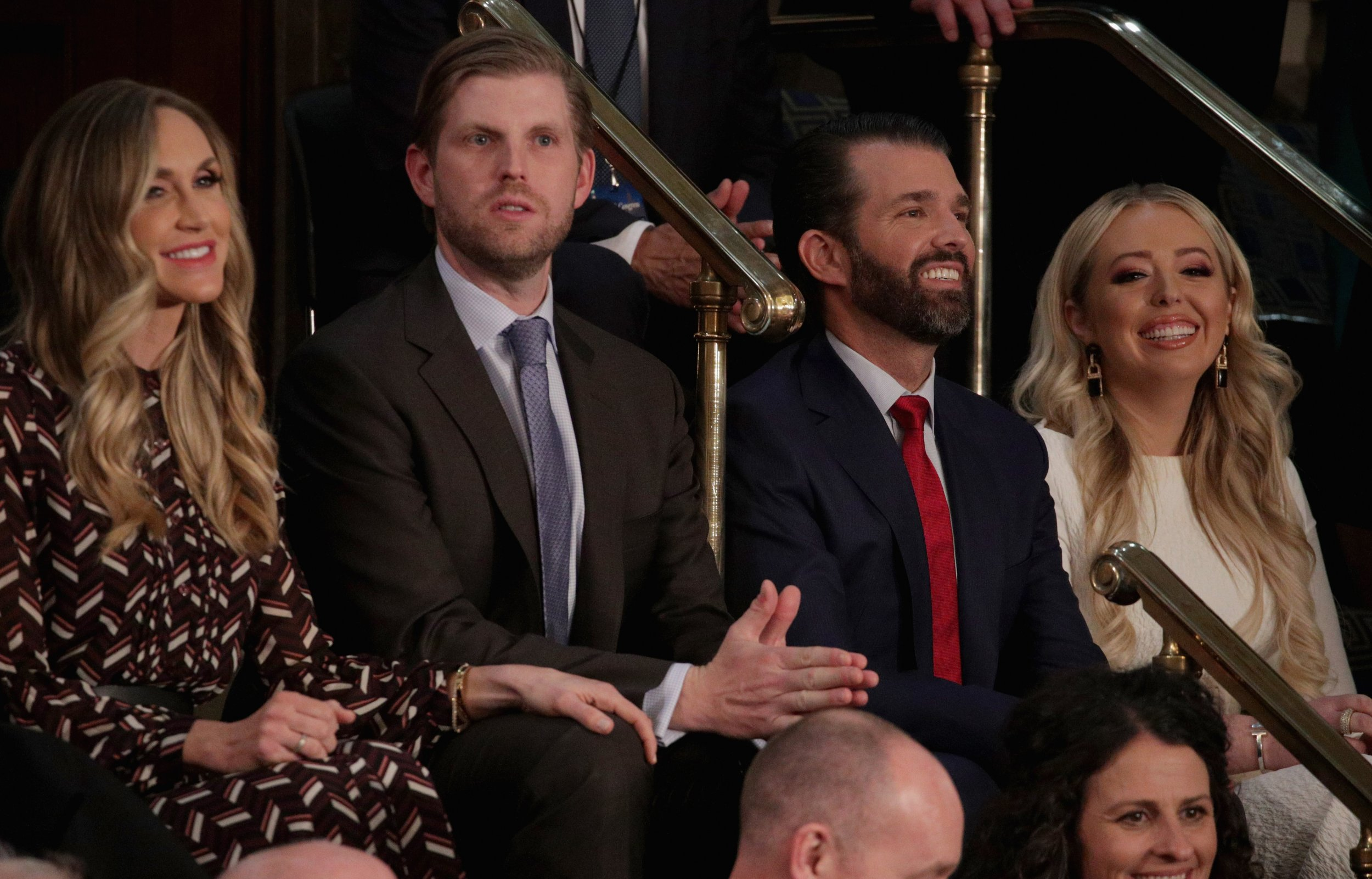 07436e5c0514 Trump Jr. Criticizes Congresswomen for Not Wearing American Flag Pin—His  Brother Tweeted Pic of  Team Trump  Doing Same Thing