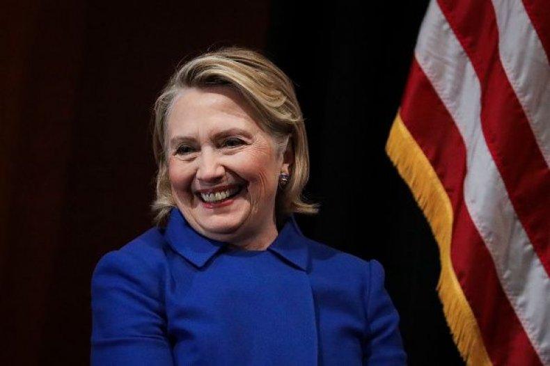 hillary, clinton, trump, praises, nancy, pelosi, women