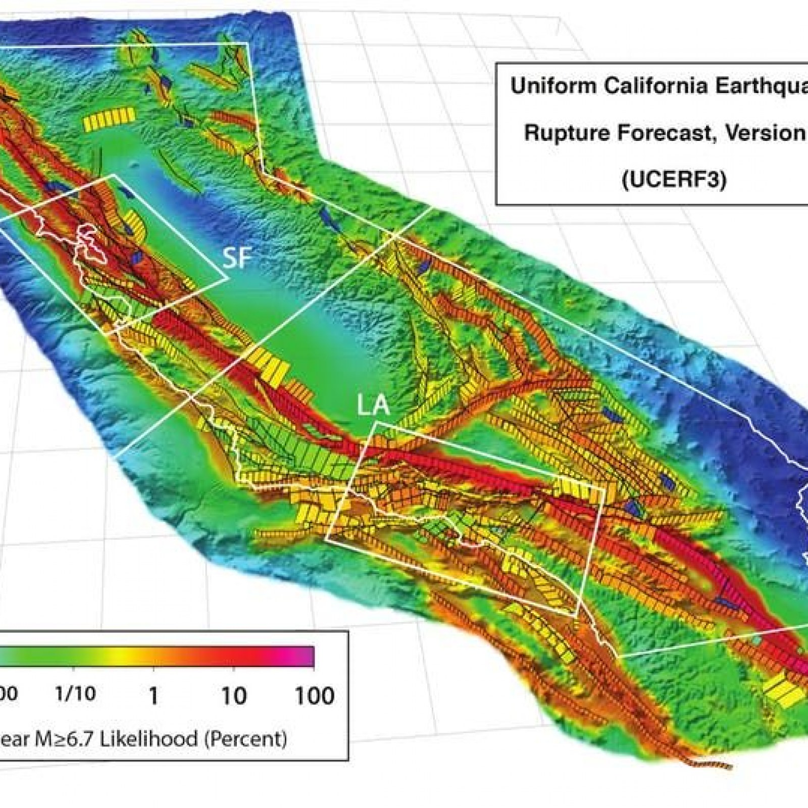 San Andreas Fault Will Probably Produce a Major Earthquake ...
