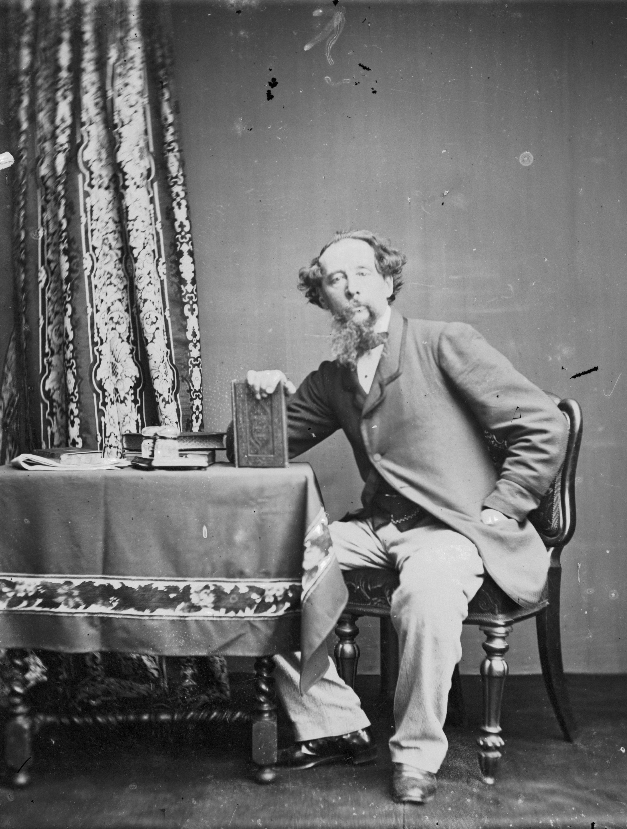 charles dickens in 1860