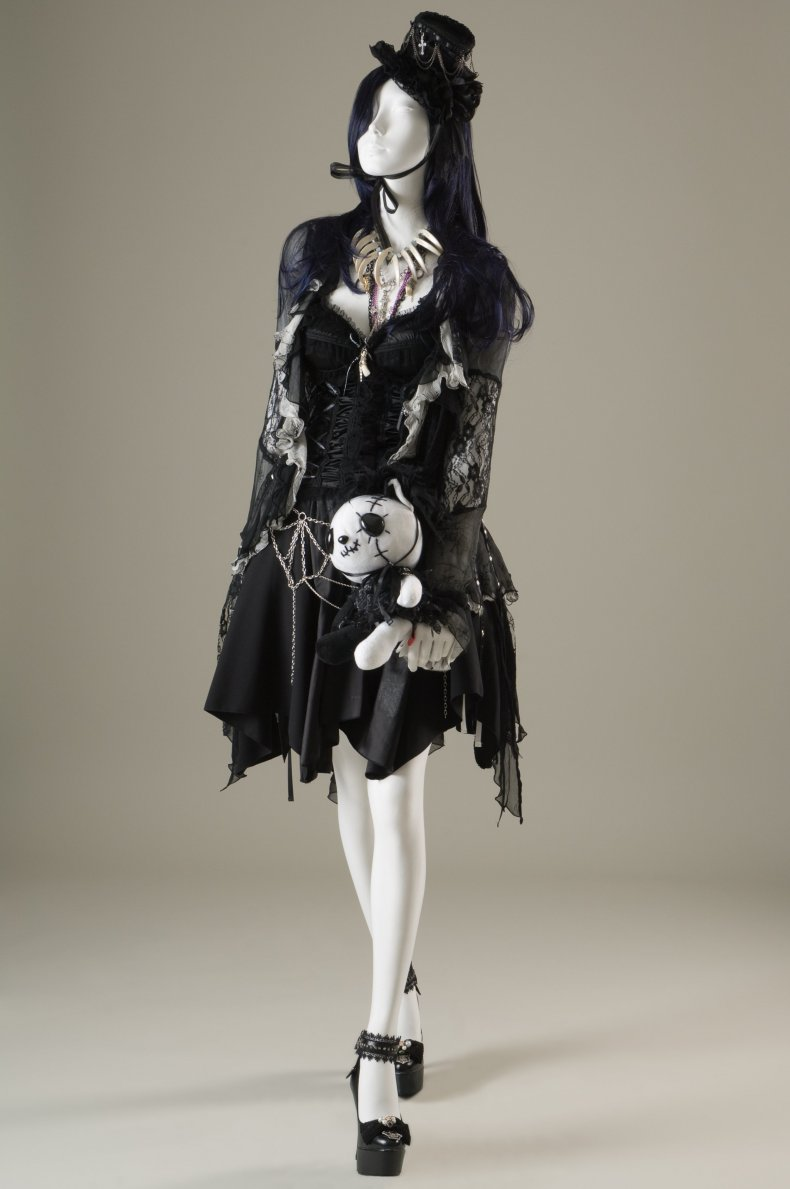 H. Naoto iconic fashion