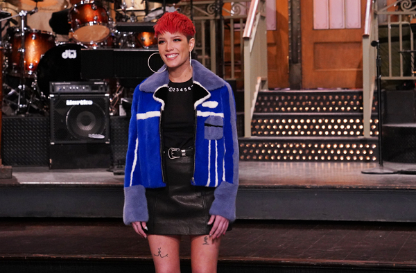 Watch Halsey Host and Perform on 'Saturday Night Live'