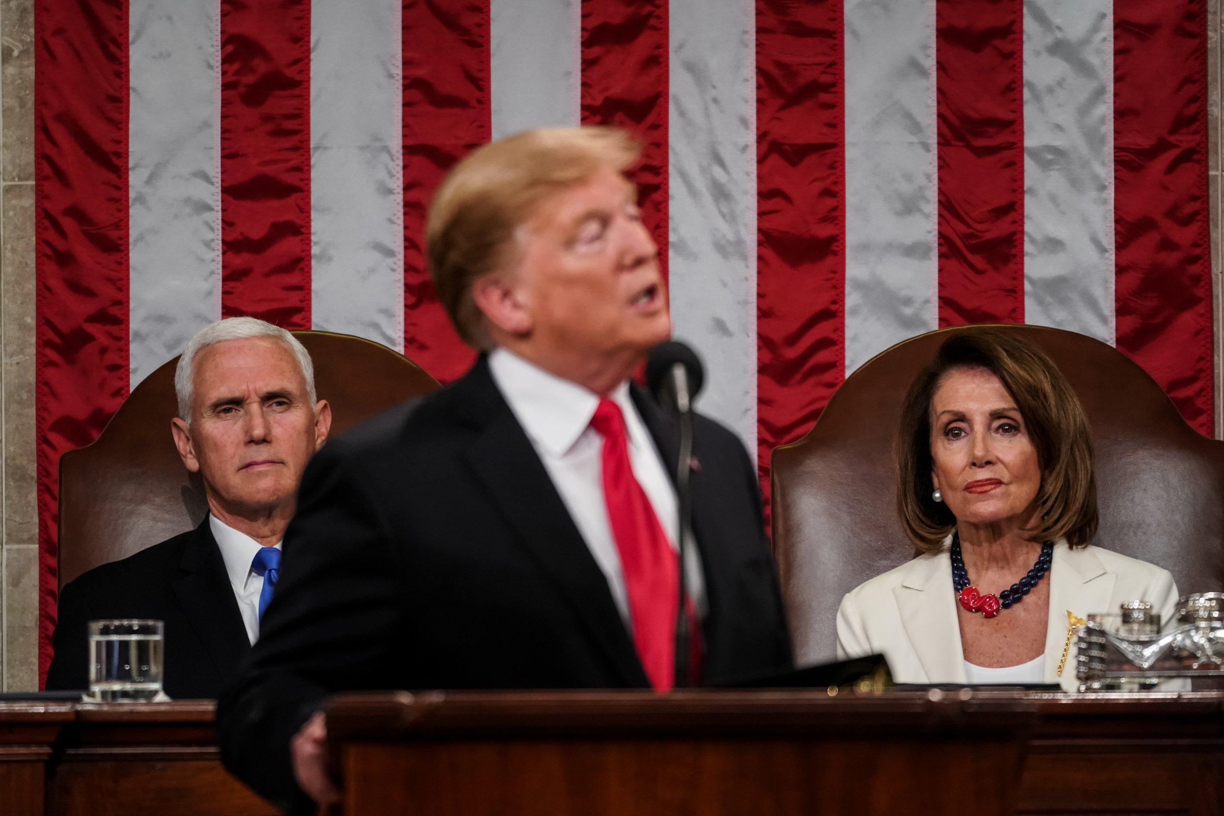 Nancy Pelosi, Trump, taxes, caution, democrats