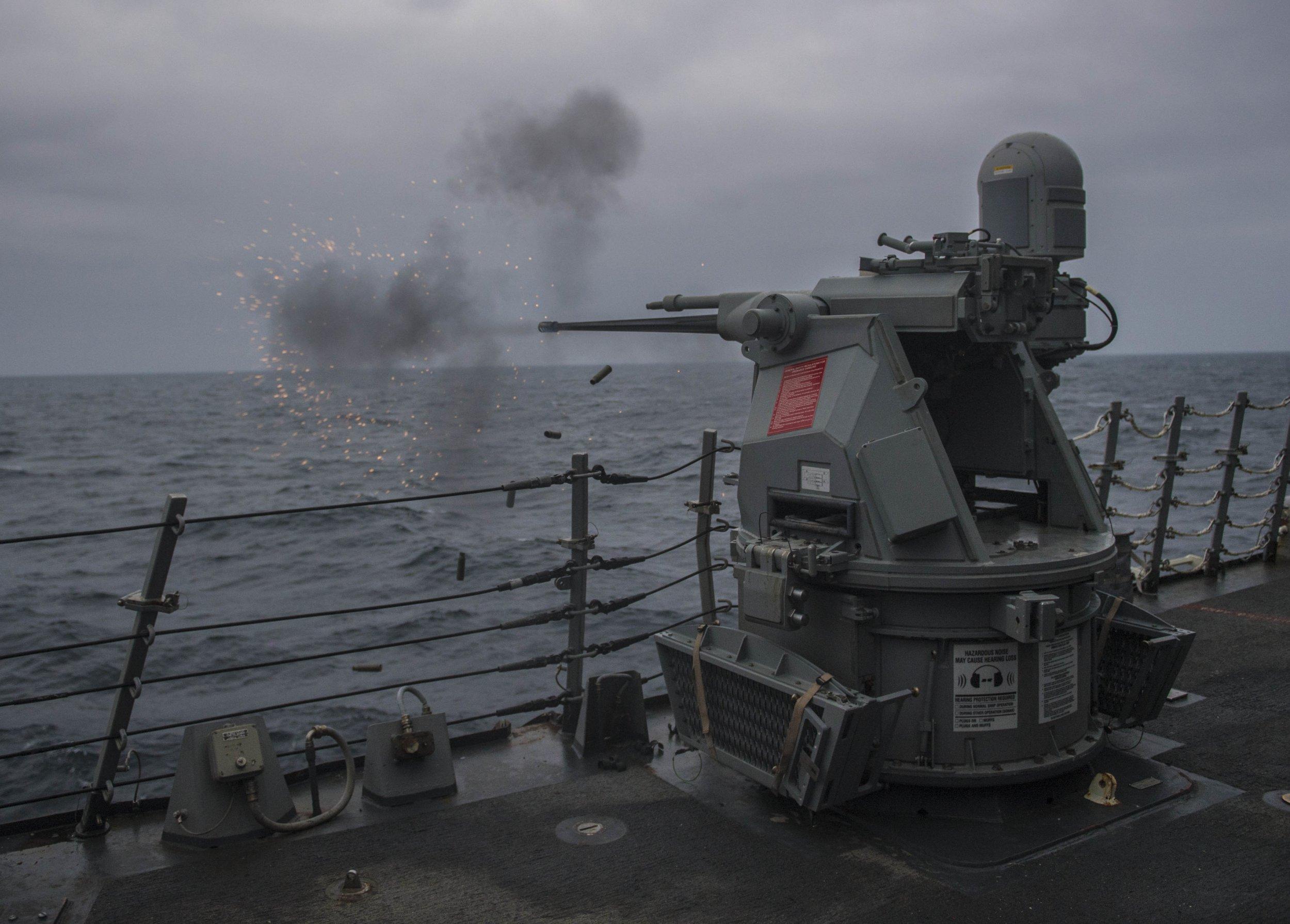 USSCarneyFiresGunBlackSea