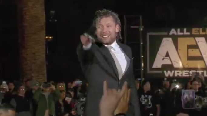 kenny omega joins aew