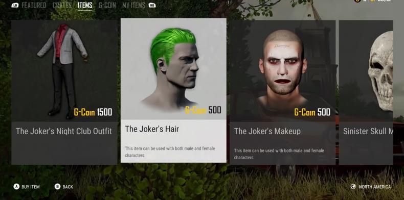 PUBG Joker crate