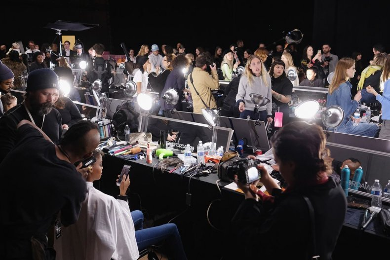 20 New York Fashion Week 2019 backstage GettyImages-1127946091