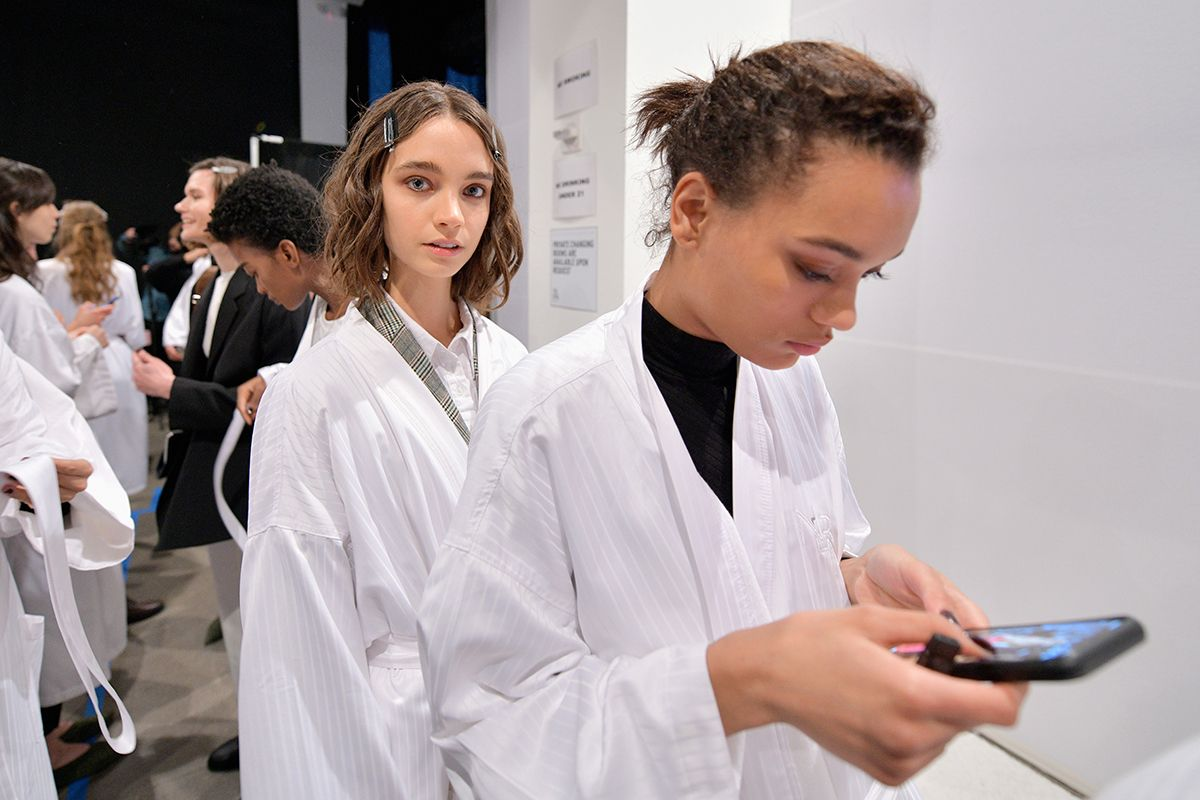 21 New York Fashion Week 2019 backstage GettyImages-1095064058