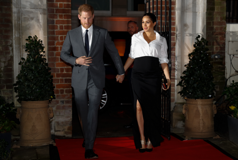 Pictures of Pregnant Meghan Markle at Endeavour Fund Awards